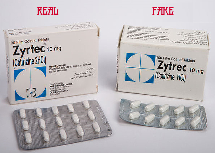 Real Versus Fake Medications
